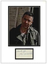 John Cassavetes Autograph Signed Display - The Dirty Dozen