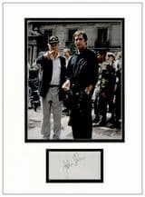 John Glen Autograph Signed Display - James Bond