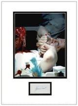 John Hurt Autograph Display - Alien