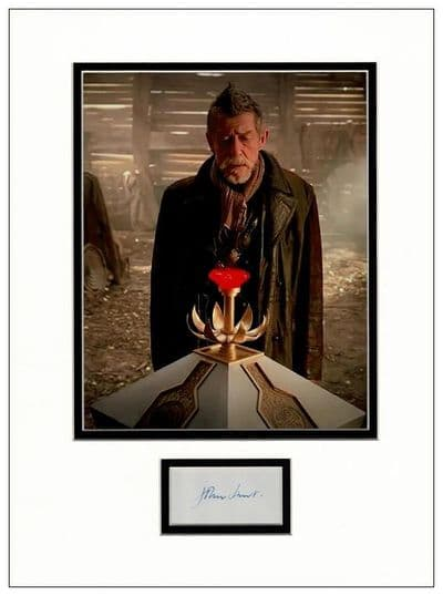 John Hurt Autograph Signed Display - Doctor Who