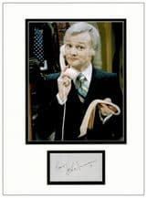 John Inman Autograph Signed Display - Are You Being Served?