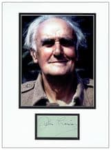 John Laurie Autograph Signed - Dad's Army