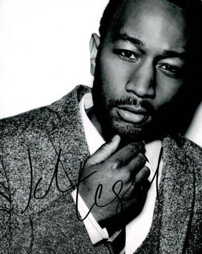 John Legend Autograph Signed Photo