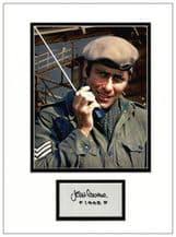 John Levene Autograph Signed Display - Dr Who