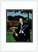 John Nettles Autograph Photo Display - Midsomer Murders
