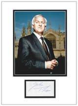 John Thaw Autograph - Inspector Morse