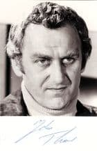 John Thaw Autograph Signed Photo - The Sweeney