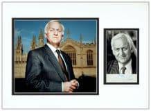 John Thaw Signed Photo Display - Inspector Morse