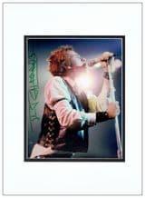 Johnny Rotten Autograph Signed Photo - Sex Pistols