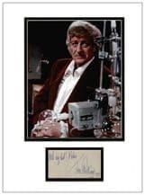 Jon Pertwee Autograph Signed Display