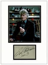 Jon Pertwee Autograph Signed - Dr Who