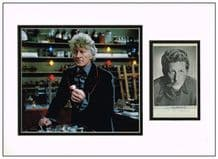 Jon Pertwee Autograph Signed Photo Display - Dr Who