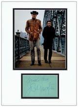 Jon Voight Autograph Display - Midnight Cowboy