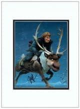 Jonathan Groff Autograph Signed Photo - Frozen