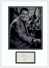 Jools Holland Autograph Signed Display