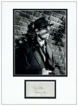 Joseph Cotten Autograph Signed - The Third Man