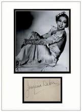 Josephine Baker Autograph Signed Display
