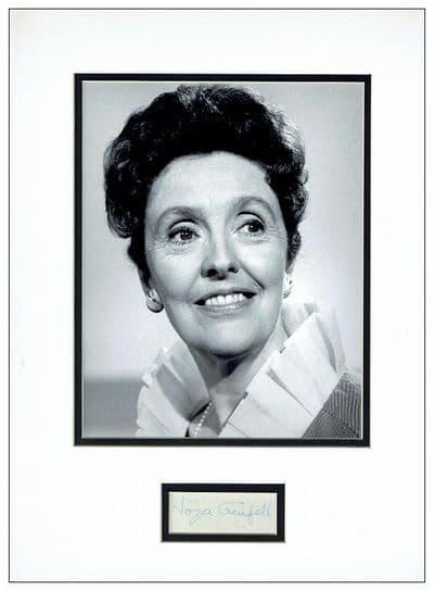 Joyce Grenfell Autograph Signed