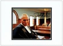 Judge Rinder Autograph Signed Photo