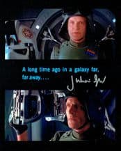 Julian Glover Autograph Signed Photo