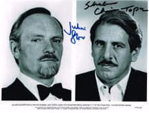 Julian Glover & Topol Autograph Signed Photo - For Your Eyes Only