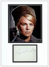 Julie Christie Autograph Signed Display - Dr Zhivago