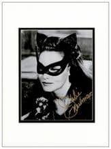 Julie Newmar Autograph Signed Photo - Catwoman