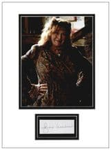 Julie Walters Autograph Signed - Harry Potter