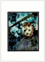 Kane Hodder Autograph Signed Photo - Jason Vorhees
