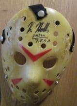 Kane Hodder Signed Hockey Mask - Jason Vorhees