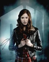 Karen Gillan Autograph Photo - Dr Who