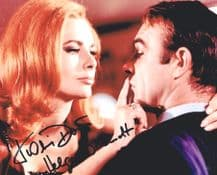 Karin Dor Autograph Signed Photo - Helga Brandt