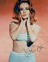 Karin Dor Autograph Signed Photo - James Bond