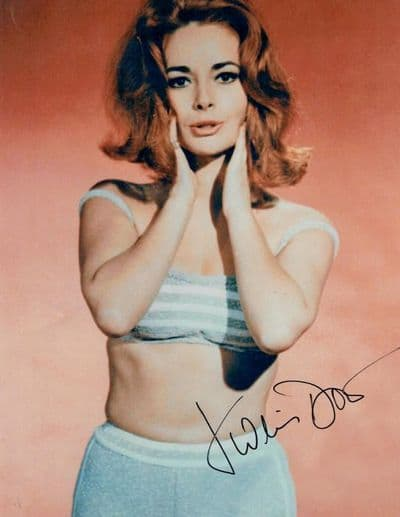 Karin Dor Autograph Signed Photo James Bond For Sale