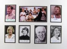 Keeping Up Appearances Autograph Signed Display