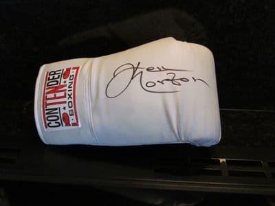 Ken Norton Autograph Signed Boxing Glove