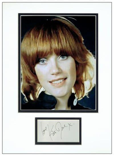 Kiki Dee Autograph Signed Display