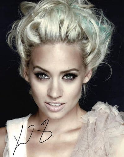 Kimberly Wyatt Autograph Photo Signed