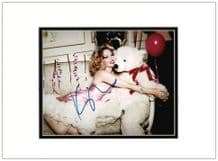 Kylie Minogue Autograph Photo