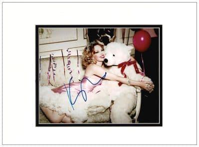 Kylie Minogue Autograph Photo