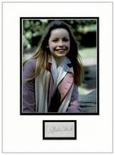 Lalla Ward Autograph Signed Display - Dr Who