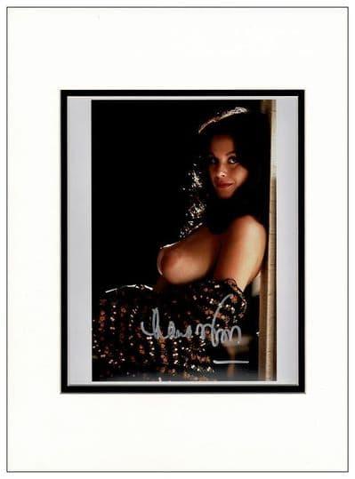 Lana Wood Authentic Autograph Photo - Plenty O'Toole