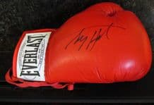 Larry Holmes Autograph Signed Boxing Glove