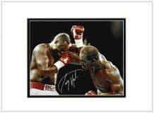 Larry Holmes Autograph Signed Photo
