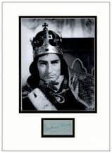 Laurence Olivier Autograph Signed - Richard III