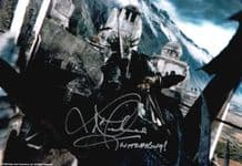 Lawrence Makoare Autograph Signed Photo -Witch King