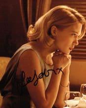 Lea Seydoux Autograph Photo - Spectre