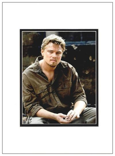 Leonardo DiCaprio Authentic Autograph Signed Photo For Sale