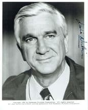 Leslie Nielsen Autograph Signed Photo - Airplane  II