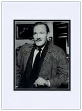 Leslie Phillips Autograph Photo Signed